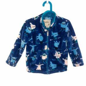 2T Hatley Fuzzy Fleece yeti Jacket
